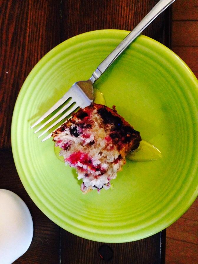 Delicious Berry Cake