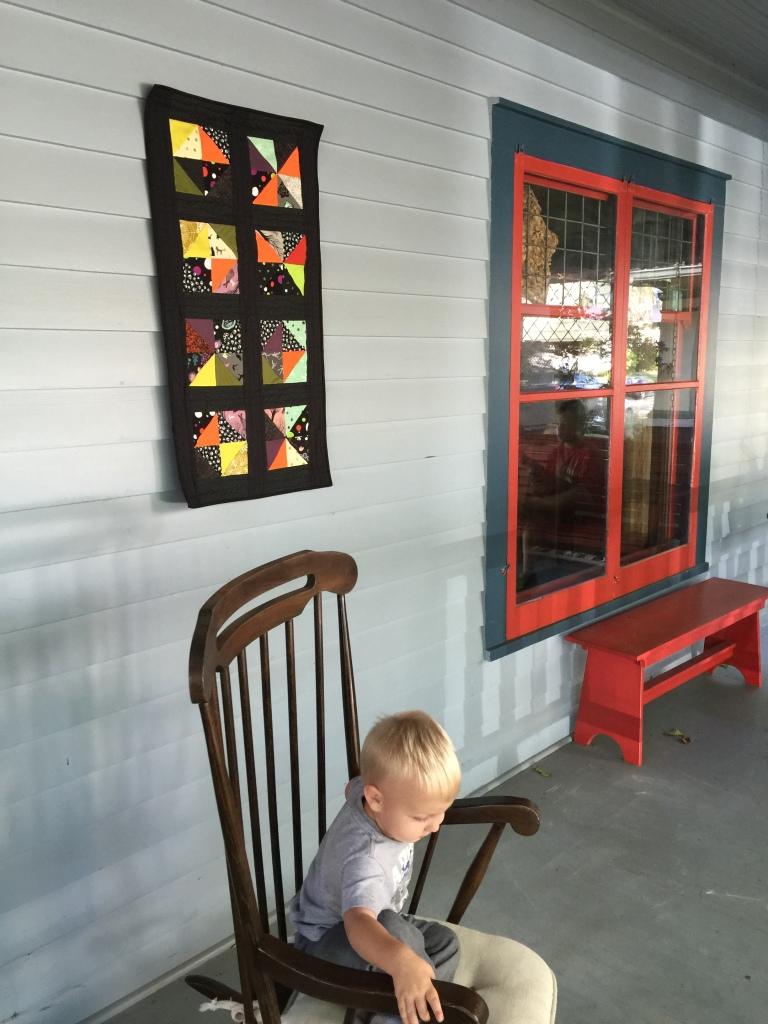 fun house window block 20